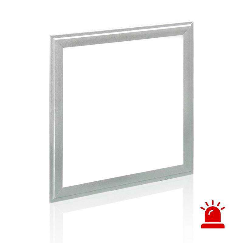 Multifunción emergencia Led PANEL 30x30cm,  12W, Blanco cálido